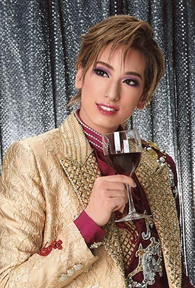宝塚花組柚香 光(Santé!! ~最高級ワインをあなたに~)博多座s