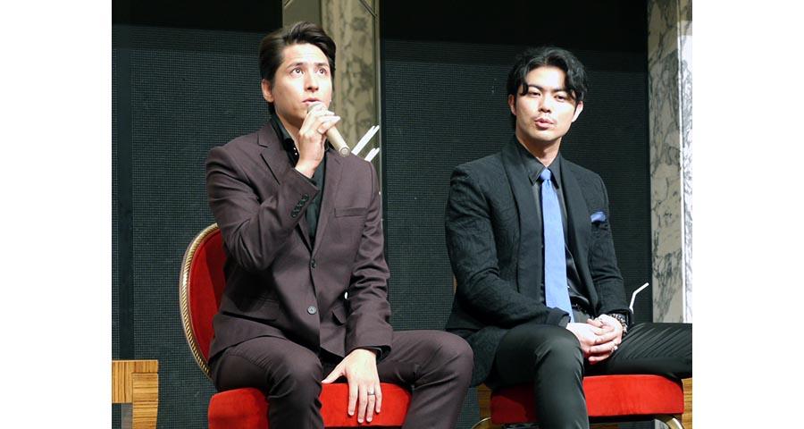 レミゼラブル制作発表_伊礼上原2