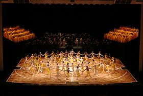 NBSモーリス・ベジャール・バレエ団&東京バレエ団合同公演「第九」全体((C)Kiyonori Hasegawa)280