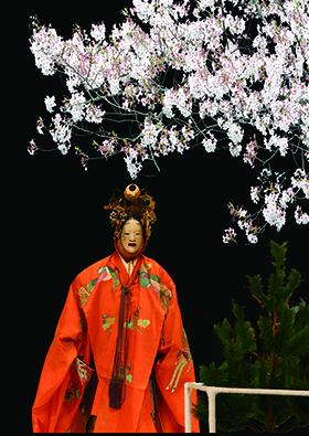 サンライズ_夜桜能2020※クレジット 写真はイメージです280